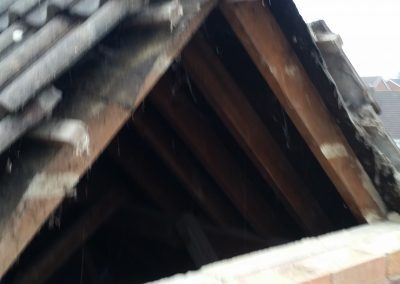 Re-building gable ends