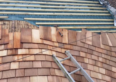 Shingle re-roofs